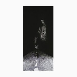 Keziat, the Journey, Originales Tintenzeichnung, 2009