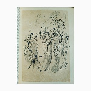 Emil Orlik - Chinese Evenings - Vintage Illustrated Book - 1920s