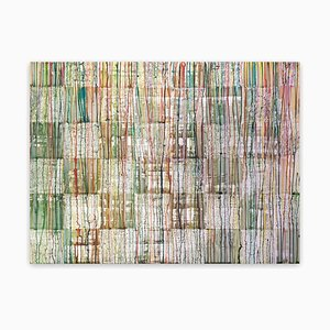 Damier 20153, (Pintura abstracta), 2020