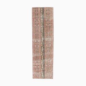 2x7 Vintage Turkish Handmade Wool Kitchen Hallway Rug