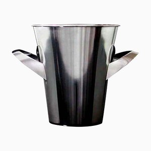 Mid-Century Silver-Plated Ice Bucket Wine Cooler by Kurt Mayer for WMF, 1950s