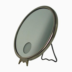French Art Deco Illuminated Le Mirophar Vanity Mirror by Brot