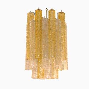 Lámpara de araña Tronchi de Toni Zuccheri para Venini, años 50
