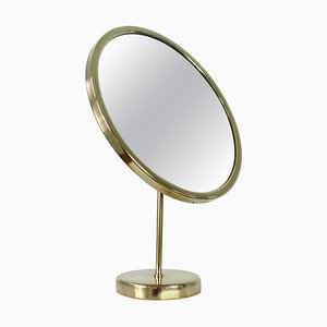 Swedish Brass Table Mirror by Josef Frank for Svenskt Tenn, 1950s