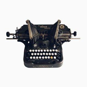 Amerikanische Nr. 9 Qwerty Schreibmaschine von Oliver of Chicago, 1904-1913