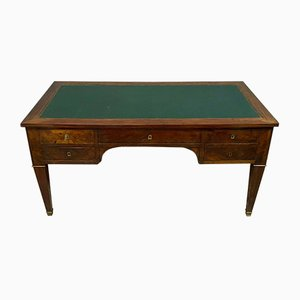 Louis XVI Mahogany Desk, 1850s
