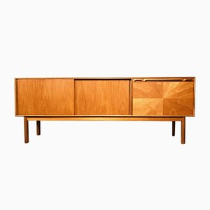 Teak Sunburst Sideboard by Tom Robertson for McIntosh, 1960s