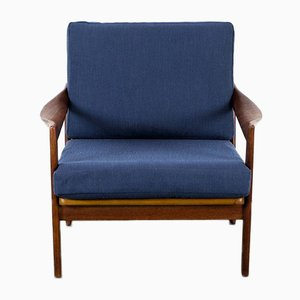 Dänischer Teak Sessel von Illum Wikkelsø für Niels Eilersen, 1960er
