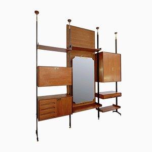 Mueble de pared italiano de Vittorio Dassi para Dassi, años 50