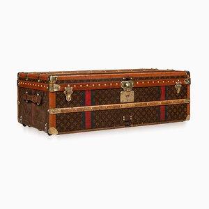 Französischer Schrankkoffer aus Holz von Louis Vuitton, 1920er