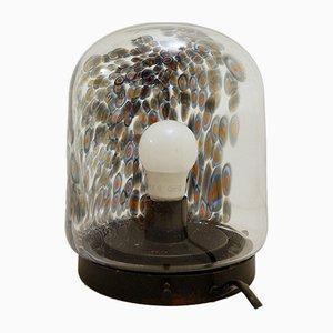 Italienische Glas Millefiori Tischlampe von Gae Aulenti