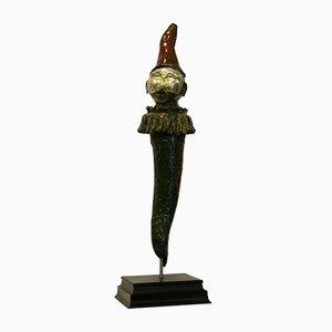 Giulio Tucci, Pulciscic, Bemalte Skulptur aus Porzellan