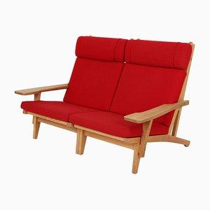 Modell Ge375 2-Sitzer Sofa mit Armlehnen von Hans J. Wegner für Getama, 1970er