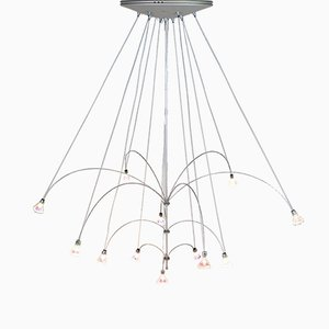 Lámpara de araña Orione de Maurizio Ferrari para Solzi Luce, Italy, años 90