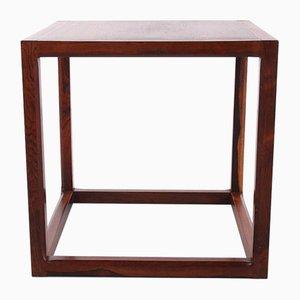 Model Cube Side Table by Aksel Kjersgaard, Denmark, 1950s