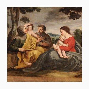 Siglo XVIII - Pintura de la Sagrada Familia