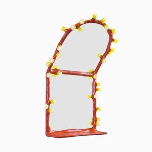Espejo de pared LEDS Clay de Maarten Baas & Bertjan Pot