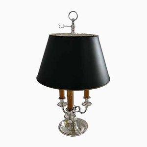 Louis XVI Silver-Plated Lamp