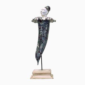 Giulio Tucci, Corn Vesuvio, Scultura in terracotta dipinta