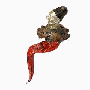 Giulio Tucci, PulciSeduto, Painted Porcelain Sculpture