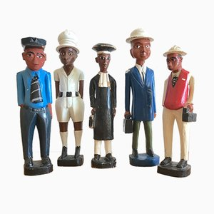 Figurines, Set of 5