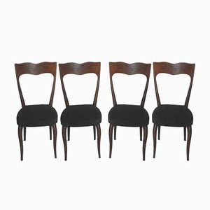 Chairs in the style of Paolo Buffa, 1950s, Set of 4