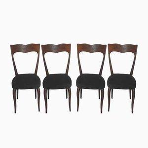Stühle im Stil von Paolo Buffa, 1950er, 4er Set