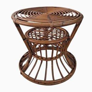 Italienischer Mid-Century Tisch aus Bambus