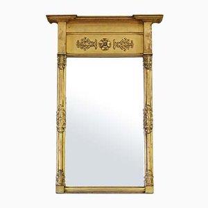 Specchio dorato a forma di molo dorato, XIX secolo