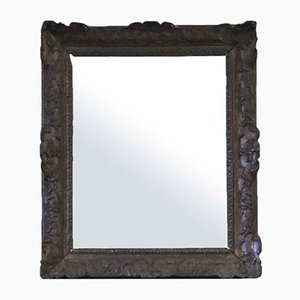 19th Century Carved Oak Mirror