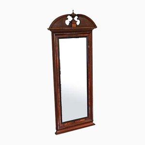 Specchio in mogano, XIX secolo