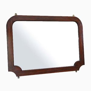 Art Nouveau Mahogany Wall Mirror, 1915