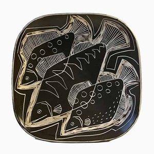 Cuenco de cerámica danés modernista de Eva & Johannes Andersen, años 60