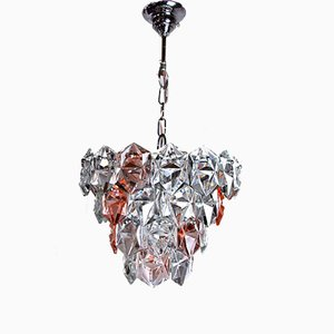 Bicolored Chandelier from Kinkeldey, 1970s, Germany