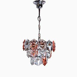 Lámpara de araña alemana de Kinkeldey, años 70