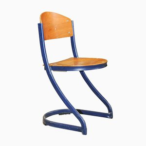 French Industrial Elodie Stacking Chair from Souvignet Plichanse, 1970s