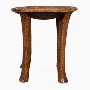 Small Antique Australian Side Table or Stool,1900s