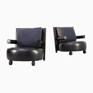 Baisity Fauteuil by Antonio Citterio for B&B Italia, 1980s, Set of 2
