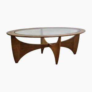 Tavolino da caffè ovale Astro Mid-Century di G-Plan