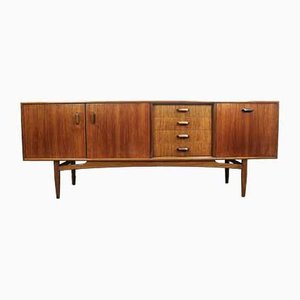 Mid-Century Teak Danish Style Sideboard by Victor Wilkins for G-Plan