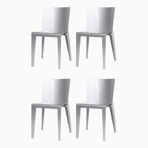 Alfa Esszimmerstühle von Hannes Wettstein für Molteni & Co., 4er Set