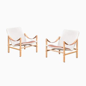 Lounge Chairs by Bror Boije for Dux, 1960s, Set of 2