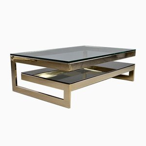 2-Tier G-Table in 23kt Gold from Belgo Chrom / Dewulf Selection