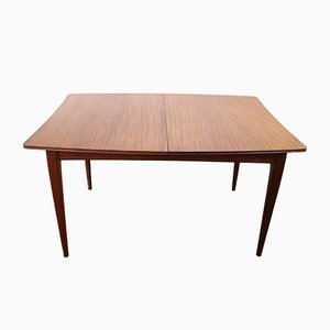 Mid-Century Extending Dining Table in African Teak by Richard Hornby for Fyne Lad