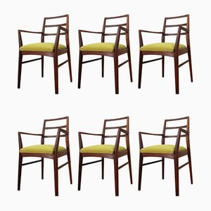 Mid-Century Teak Dining Chairs by Richard Hornby for Fyne Ladye, Set of 6