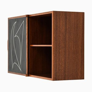 Swedish Wall Cabinet by Osten Kristiansson for Luxus
