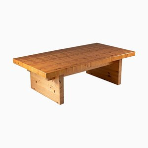 Scandinavian Pine Coffee Table by Rain