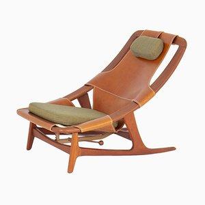 Scandinavian Holmenkollen Lounge Chair by Arne Tidemand Ruud for AS Inventar