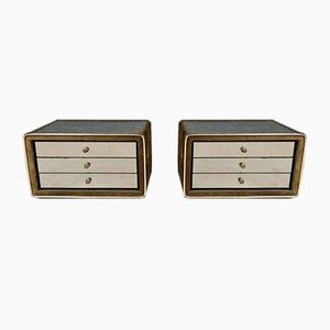 Bedside Tables by Ruf International, 1960s, Set of 2