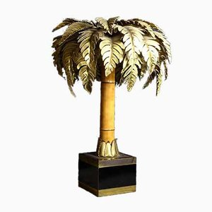 Palm Tree Lamp from Maison Jansen, 1970s